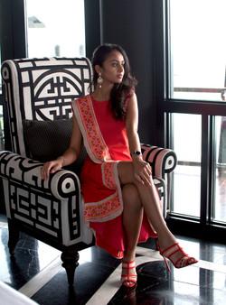"""""""Mumbai"""" dress"""