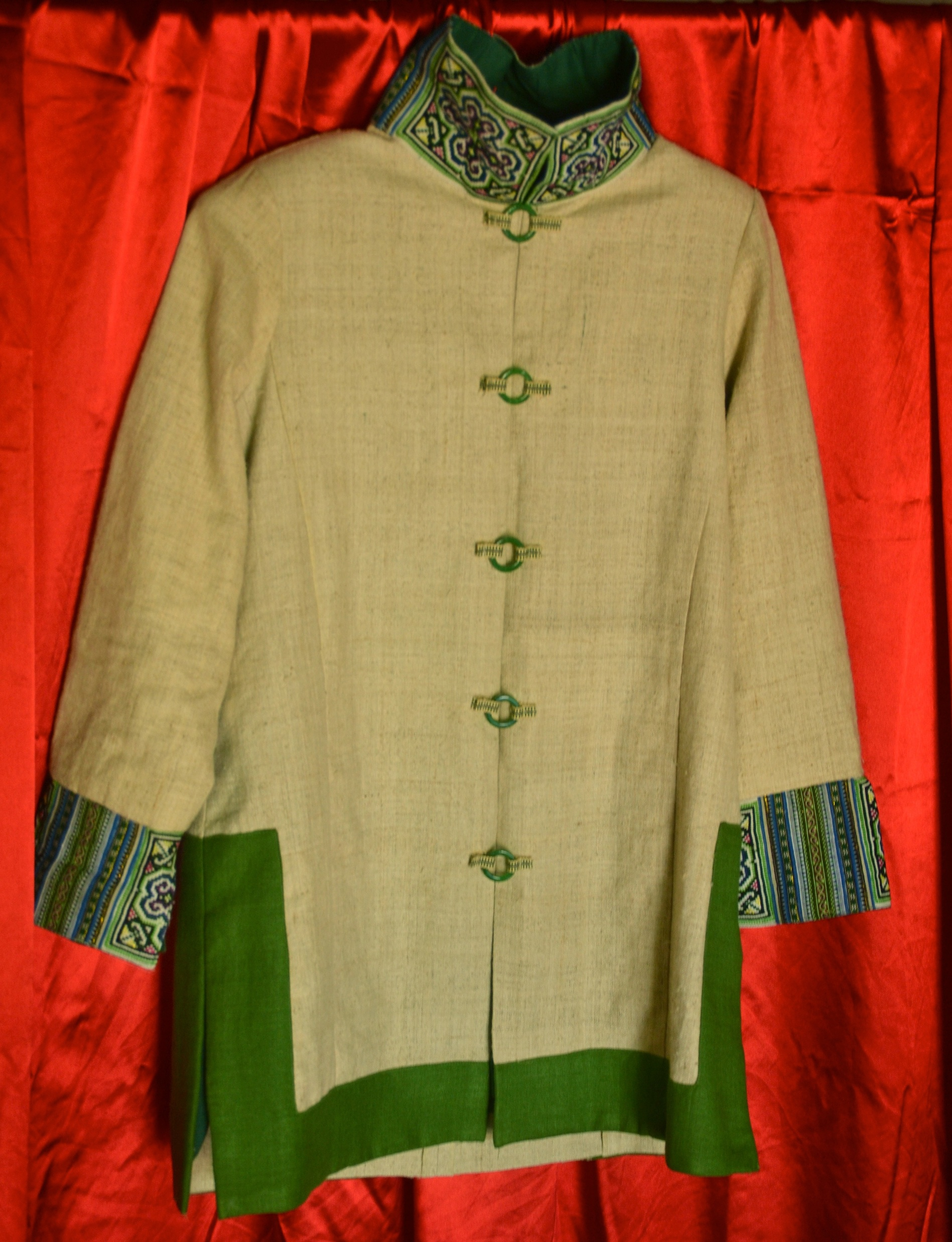 Vanh Dai Green. Custom made.