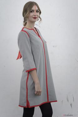 """Old school red"" dress"