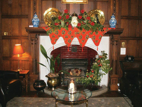 Festive Sunday Lunch at Gregynog Hall