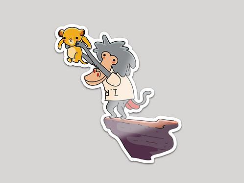 Sticker - ¡El principe ha llegao!