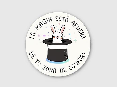 Sticker - Zona de confort