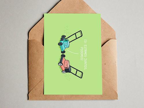 Postal - Juntos podemos