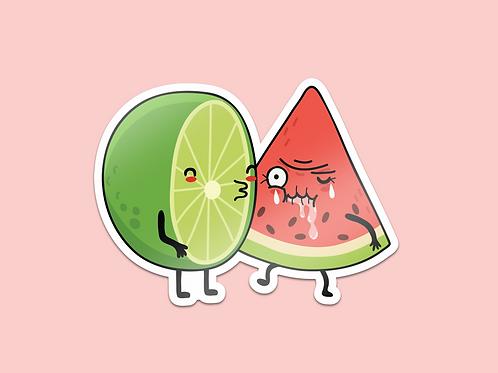 Sticker - El primer beso