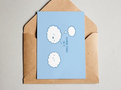 Postal - Pienso en ti
