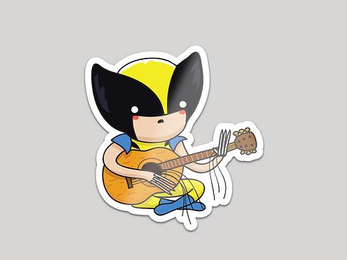 Sticker - Guitar hero