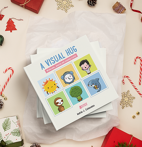 christmas book a visual hug wix banner.p