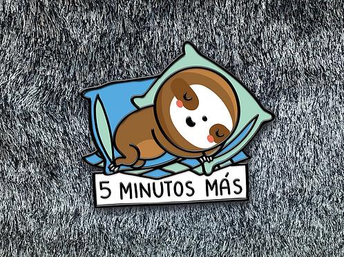 Pin - 5 minutos más