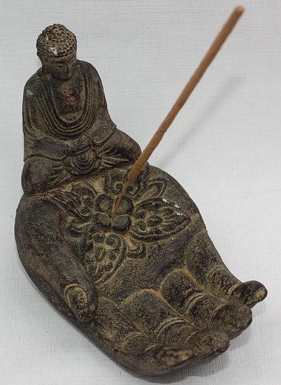 Porte Encens Main Et Bouddha