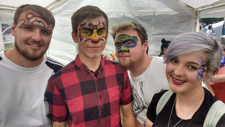 Festival Facepainting