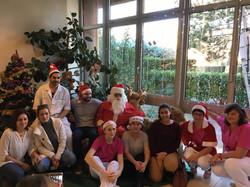 Noël avec le personnel