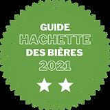 logo étoiles Guide Hachette des bières 2