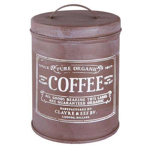 "Boite Métal ""COFFEE"" (grand)"