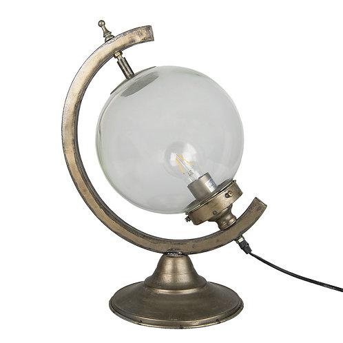 Lampe sphère en verre