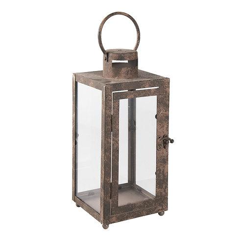 Lanterne rectangulaire vitrée