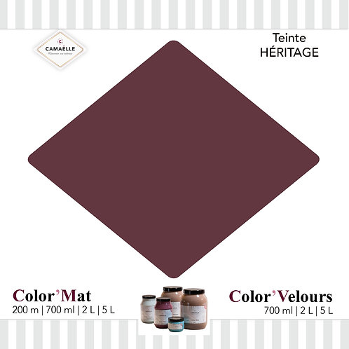 COLOR'VELOURS HÉRITAGE