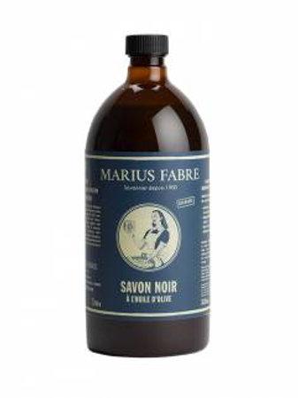 Savon noir liquide à l'huile d'olive. Recharge 1L