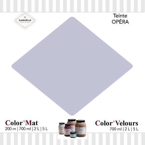 COLOR'VELOURS OPÉRA