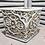 Thumbnail: pot de fleur baroque, de couleur vieille pierre, patine antique