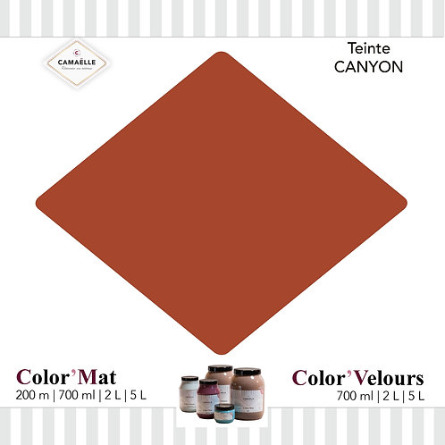 COLOR'VELOURS CANYON