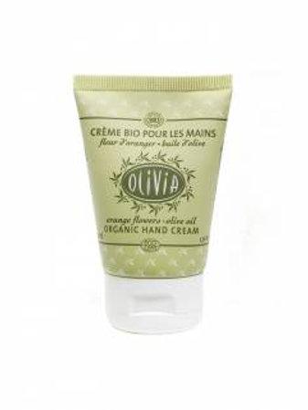 Crème pour les mains à l'huile d'olive, certifiée BIO