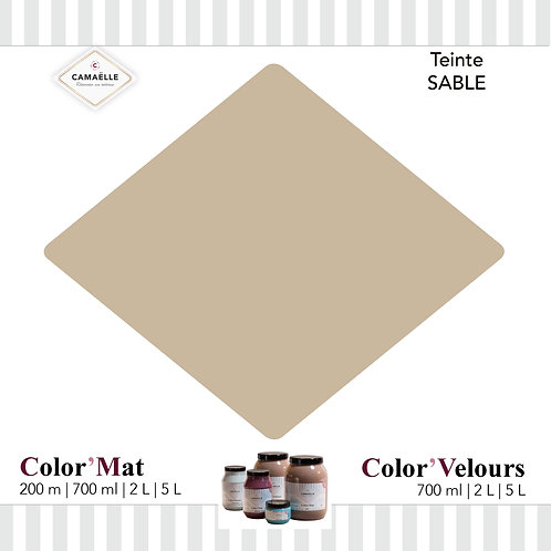 COLOR'VELOURS SABLE
