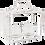 Thumbnail: Lanterne 2 bougies blanche