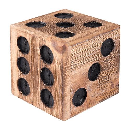 dé en bois