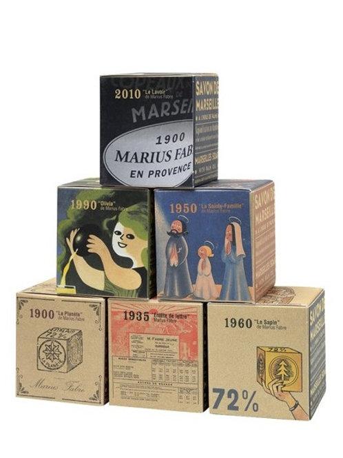 Cube Savon de Marseille Collector 110 ans, 200g, à l'unité
