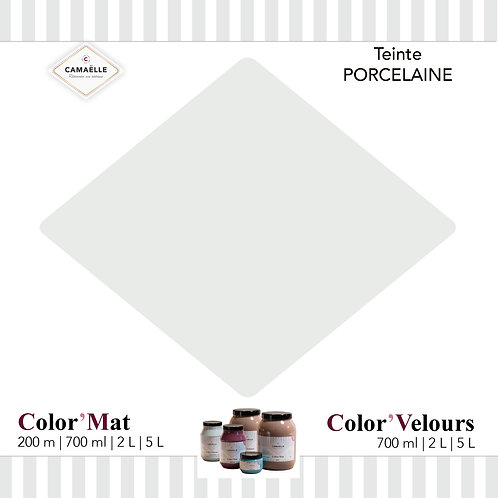 COLOR'VELOURS PORCELAINE