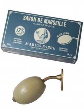 Savon de Marseille à fixer au mur