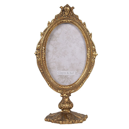 cadre photo style baroque sur pied
