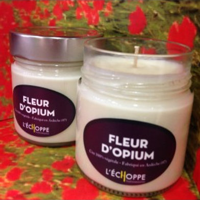 Bougie Parfumée Fleur d'Opium