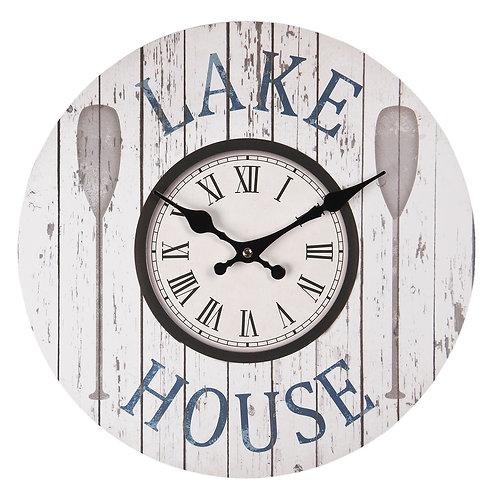 Horloge murale Lake Housse