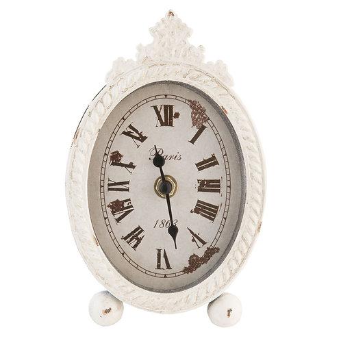 Horloge à poser blanche