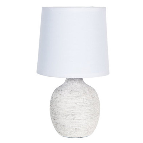 Lampe à poser balnche