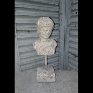 Buste homme aspect vielles pierres