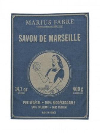"""Torchon Marius Fabre """"Savon de Marseille"""""""