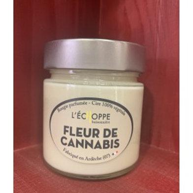 Bougie Parfumée Fleur de Cannabis