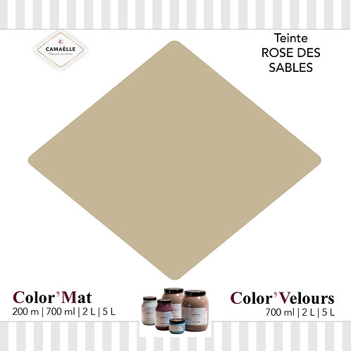 COLOR'MAT ROSE DES SABLES