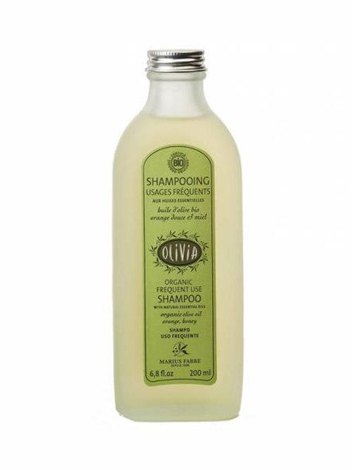 """Shampooing à l'huile d'olive """"Usage fréquent"""", certifié BIO - 230 ml"""