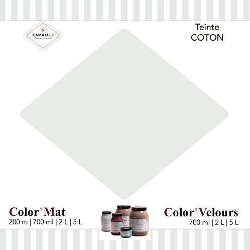 COLOR'VELOURS COTON