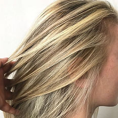 Natural tone #blonde #highlights #miospa