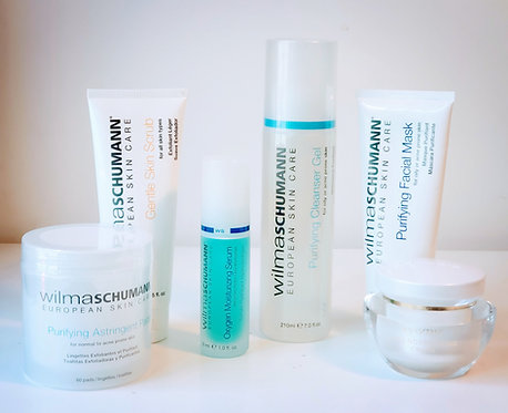 Professional Quality Home Skin Care Products Kit(Acne, Oily Skin)