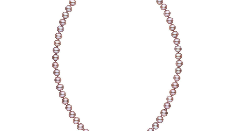16in  AAA Lavender Freshwater Pearls