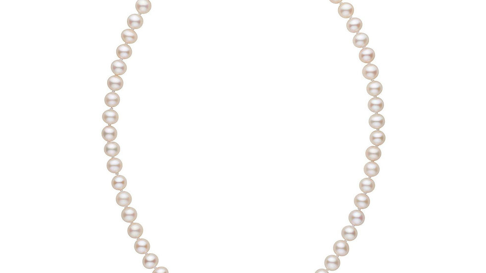 16in AAA White Freshwater Pearl Necklace