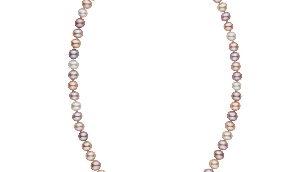 18in AAA Multicolor Freshwater Pearl Necklace