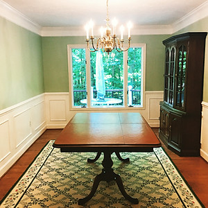 Reston Chairmold, Basemold, and Wainscoting