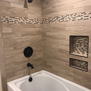 Sterling Basement and Bathroom Remodel