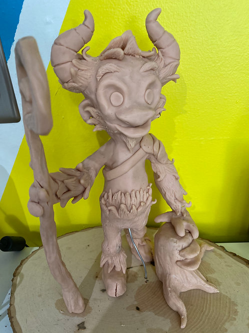 Polymer clay sculpting March 27th -May 15th Saturday 1:00pm Ages 8-100